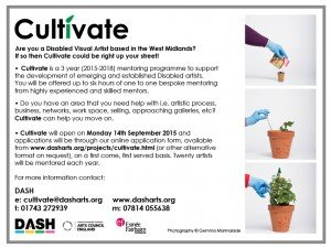 Cultivate flyer