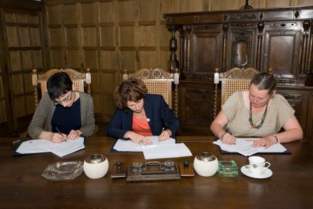 DCN - Signing of Memorandum © Iain Duncan/RAF Museum