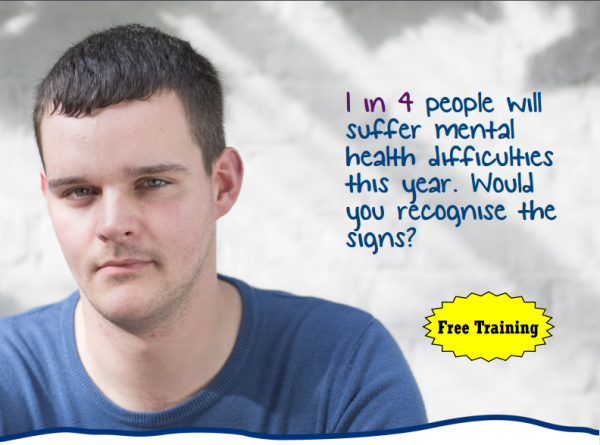Peterborough and Fenland Mind offer Mental Health First Aid (MHFA) training