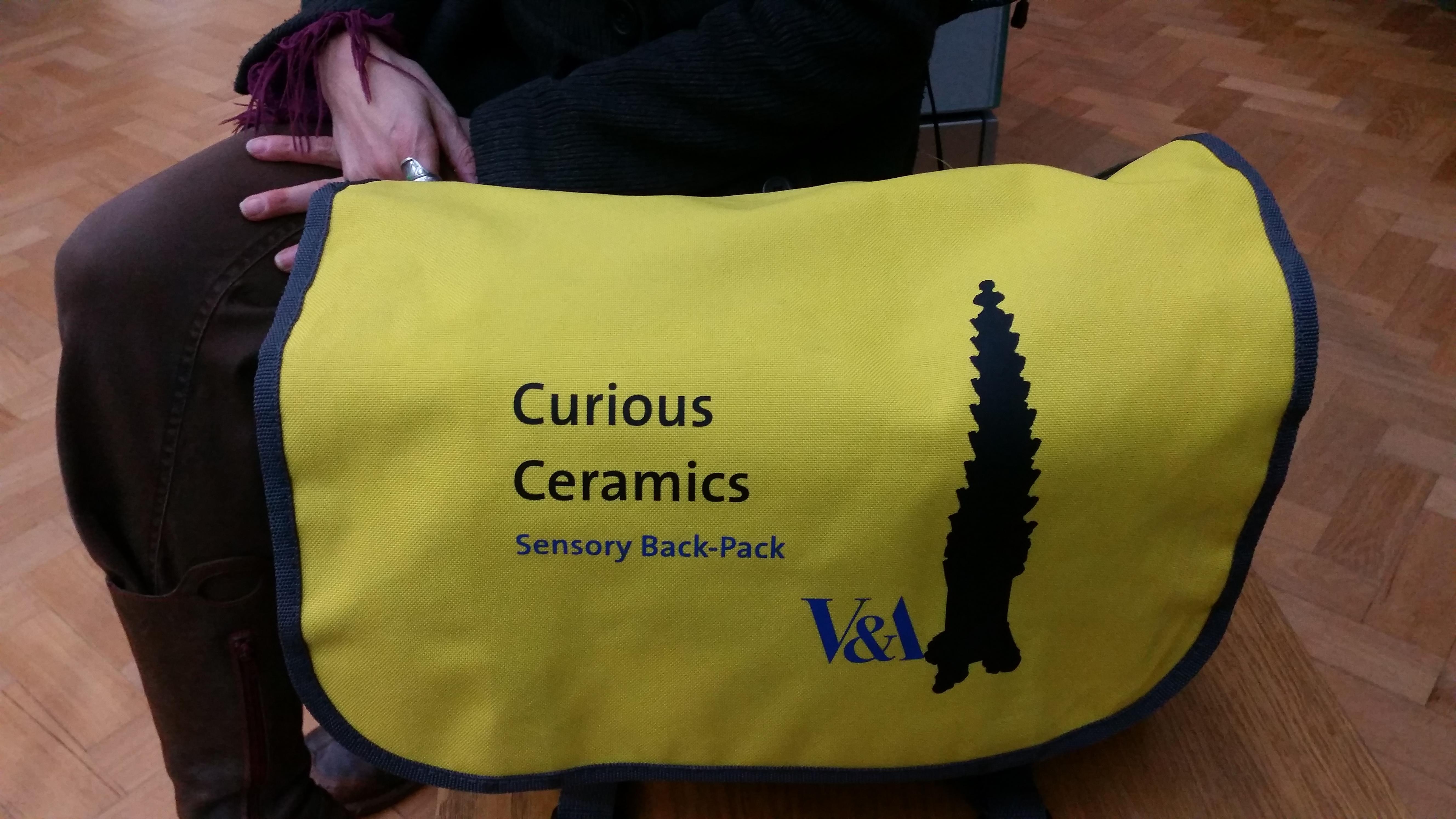 Curious Ceramics bag