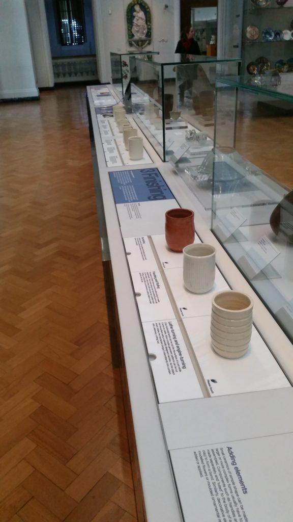 Ceramics Gallery - lots to touch